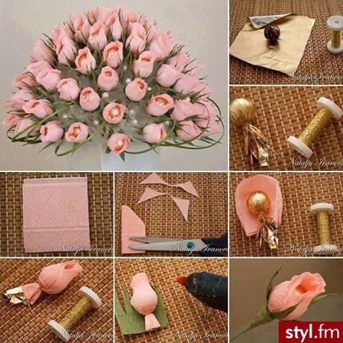 Dla każdej osoby lubiącej kwiaty i słodycze ;)