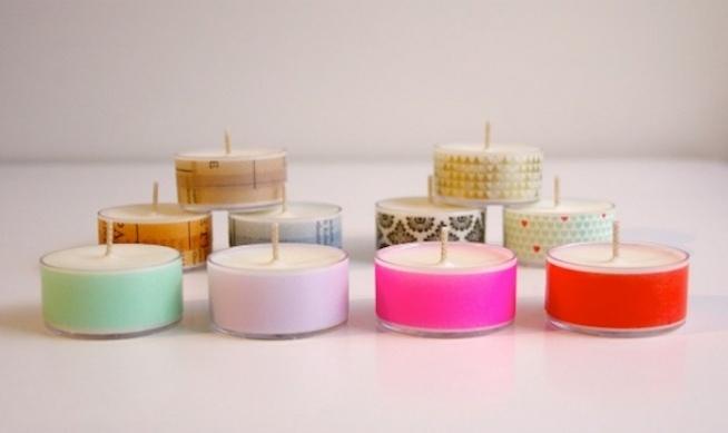 świeczki są fajnym prezentem tym bardziej jak własnoręcznie je ozdobimy ;)