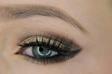 Makeup brąz i złoto ♥