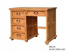 rustykalne biurko młodzieżo...