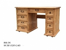 biurko woskowane BIK 04