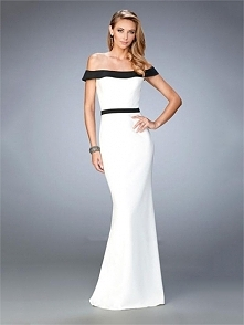 Mermaid with the off shoulder neckline Chiffon Prom Dress PD3241
