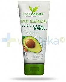NOWOŚĆ - naturalna maska regenerująca do włosów z awokado i migdałami - to lu...