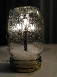 słoik - latarenka