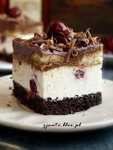 """Ciasto """"Wiśnia z makie..."""