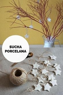Łatwy przepis na suchą porcelanę. Ozdoby z suchej porcelany i prosta dekoracj...