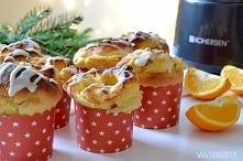 Babeczki z serem + info o konkursie świątecznym - po kliknięciu na zdjęcie :)