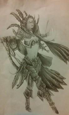 Shaman girl magic