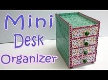 How to make a Mini Desk Org...