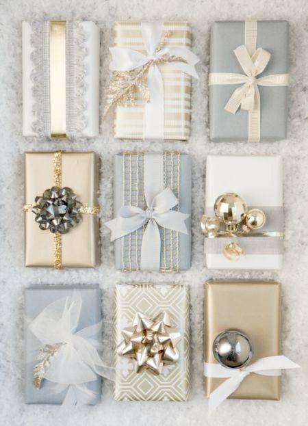 bardzo mi się podoba ten sposób na pakowanie świątecznych prezentów
