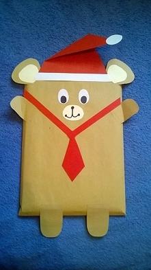 Opakowanie ksiązki dla dziecka na mikołajki ;)