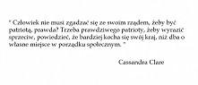 Miasto popiołów - Cassandra...