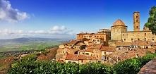 Volterra - idealne włoskie miasteczko w Toskanii. Miasto przetrwało wieki bur...