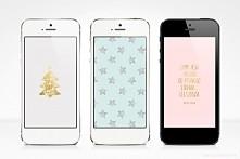 Tapety na telefon z zimowymi i świątecznymi motywami :)