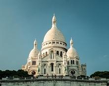 Bazylika Sacré-Cœur (Bazylika Najświętszego Serca) – kościół na szczycie wzgó...