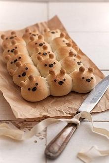 Misiowe chlebki. ♥ Składnik...
