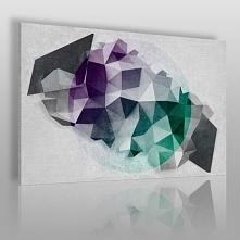 Kwadratura koła - nowoczesny obraz na płótnie