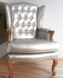Renowacja fotela ludwik