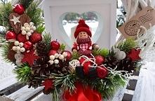 Wianek Świąteczny z lalą od...