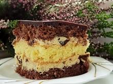 ciasto z kremem śliwkowym
