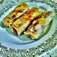 Spring rollsy z papieru ryż...