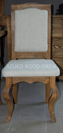stylowe krzesło tapicerowane