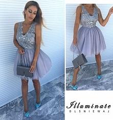 Tiulowo-gipiurowa sukienka Illuminate <3 <3 <3