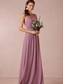 A-LINE/PRINCESS V-NECK FLOOR-LENGTH RUFFLES CHIFFON BRIDESMAID DRESS dressbib...