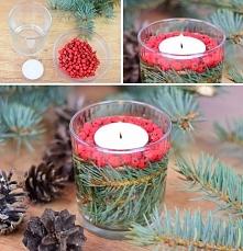 Dekoracja na świąteczny stół w 5 minut! Instrukcja na naszym blogu po kliknię...