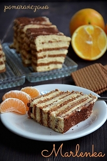 ciasto bez pieczenia na herbatnikach