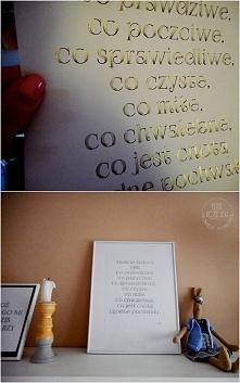 DIY plakat do druku