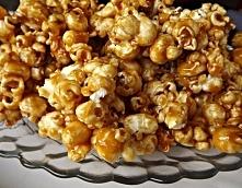 Do filmu mogę wam polecić karmelowy popcorn, ale nie taki kupny tylko dobry d...
