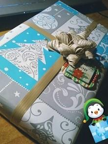 Żaden ze mnie fotograf, ale lubię pakować prezenty i dwa pierwsze na święta z...