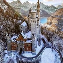 Zamek Neuschwanstein - Niemcy