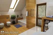 Radosna! projekt niewielkiego skromnego i ekonomicznego domu. Wizualizacje wn...