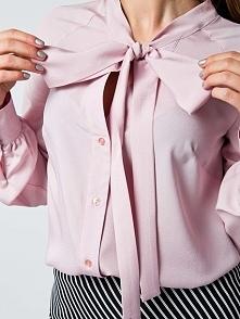 Piękna bluzka koszulowa dostępna w delikatnych kolorach na naszej stronie thecovershop.pl