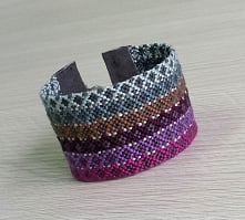 Friendship bracelet patchwork