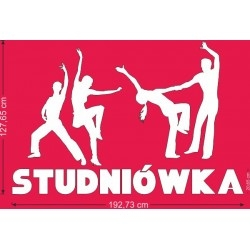 Zestaw  napis studniówka + tancerze