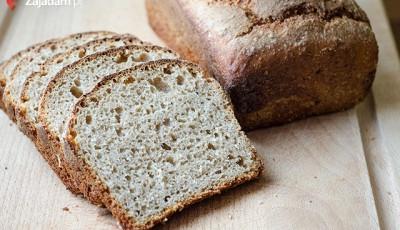 Prosty chleb - przepis dla leniwych :)  Nie wierzyłam, że dobry chleb można zrobić tak łatwo i szybko. Doradzam wlasne eksperymenty z rodzajami mąk i przypraw. Przestałam kupować chlep w sklepie.