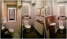 toaleta. skromne środki finansowe i brak doświadczenia w remontach spłodził coś takiego ;) na jakiś czas starczy, a później dorobię się czegoś lepszego ;D