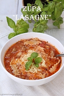 Zupa Lasagne  ( na 4 małe  ...