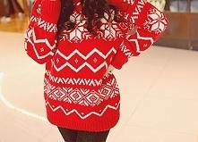 Świąteczny sweter? Dlaczego nie. Jeśli tylko będzie ciepły, miękki, uroczy to...