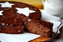 Tort kasztanowy czarny. Bar...