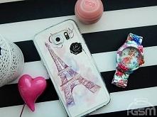 A może Paryż?? Etui z romantycznym nadrukiem dostępne do wielu modeli telefonów :)
