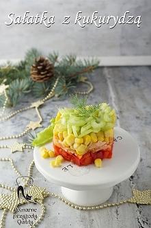 Świąteczna sałatka z kukury...
