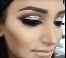 mocniejszy makijaż na ślub