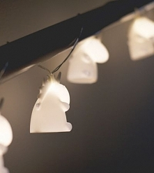 Lampki jednorożce