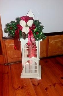 lampion - świąteczna dekoracja