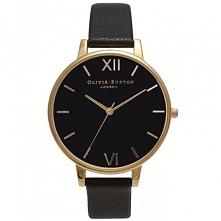 Czarny, stylowy. Taki zegarek dostępny na stronie mulierstore.com - kolekcje - zakładki damskie.