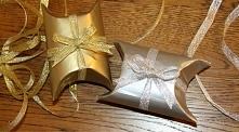 Zobacz jak w bardzo prosty sposób (nawet sobie nie wyobrażasz jak prosty) zrobić takie małe, efektowne pudełeczko na prezent. Kliknij, żeby zobaczyć więcej.
